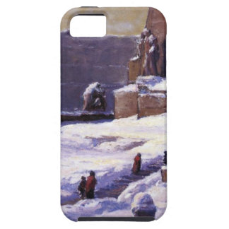 Monument in the Snow by T. C. Steele Tough iPhone 5 Case