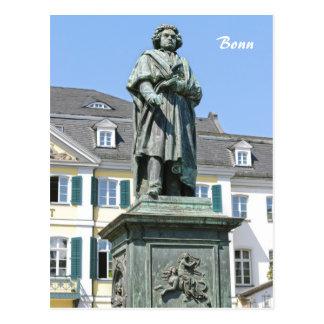 Monument of Ludwig van Beethoven in Bonn Postcard