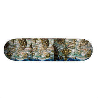 Monument roles 18.1 cm old school skateboard deck