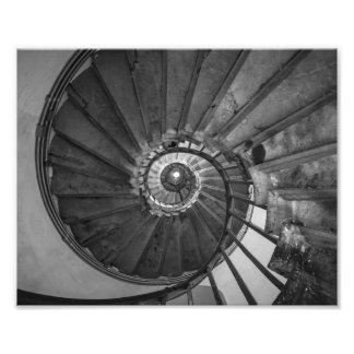 Monument Spiral Staircase Photo Print