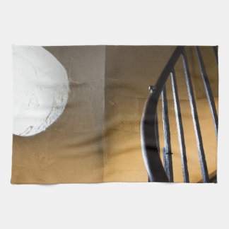 Monument Spiral Staircase Tea Towel