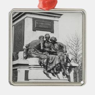 Monument to Alexandre Dumas Pere Christmas Ornament