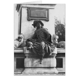Monument to Alexandre Dumas Pere, d'Artagnan Card