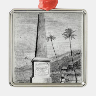 Monument to Captain James Cook Christmas Ornament