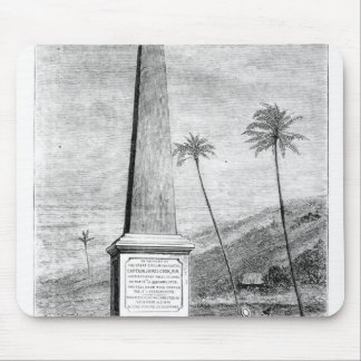 Monument to Captain James Cook Mouse Mat