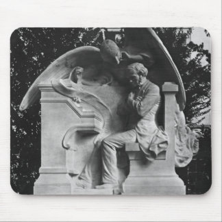 Monument to Cesar Franck Mouse Pad