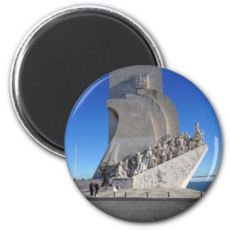 Monument to Discoveries 2   Padrão Descobrimentos 6 Cm Round Magnet