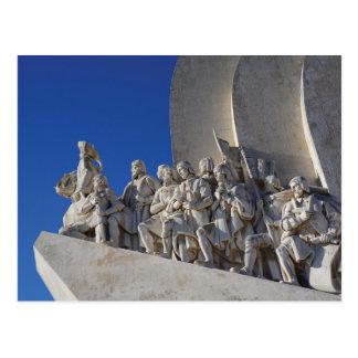 Monument to Discoveries 3   Padrão Descobrimentos Postcard