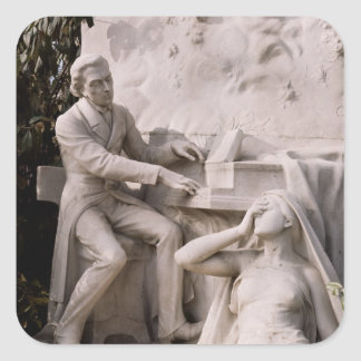 Monument to Frederic Chopin Sticker