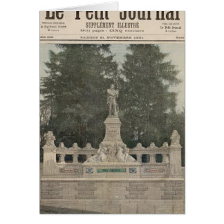 Monument to Gambetta at Ville-d'Avray Greeting Card