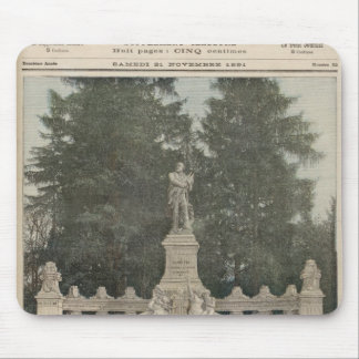 Monument to Gambetta at Ville-d'Avray Mouse Mat