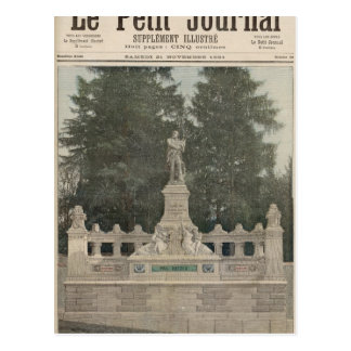 Monument to Gambetta at Ville-d'Avray Postcard
