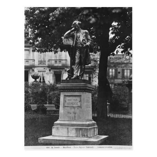 Monument to Hector Berlioz Post Cards
