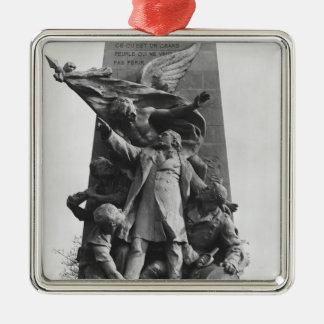 Monument to Leon Gambetta Christmas Ornament