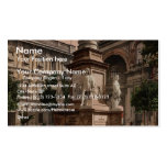 Monument to Leonardo di Vinci, Milan, Italy vintag Pack Of Standard Business Cards