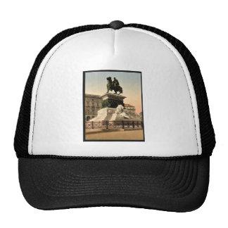 Monument to Victor Emmanuel, Milan, Italy vintage Trucker Hats