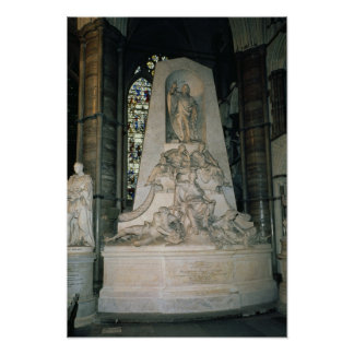 Monument to William Pitt the Elder Poster