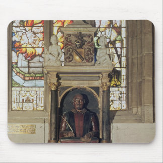 Monument to William Shakespeare  c.1616-23 Mouse Mat