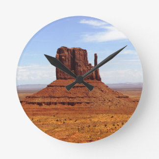 Monument Valley 12 Round Clock