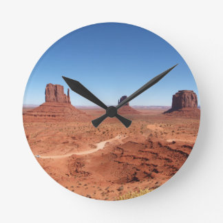 Monument Valley 3 Round Clock