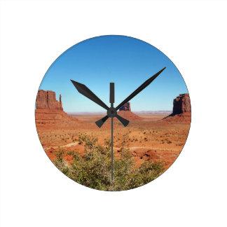 Monument Valley 6 Round Clock