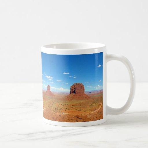 Monument Valley Between Arizona and Utah Coffee Mugs