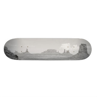 Monument Valley (black and white) 2 Skate Board Deck