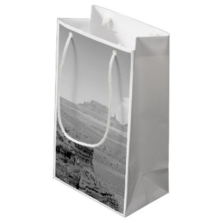 Monument Valley (black and white) 2 Small Gift Bag