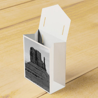 Monument Valley (black and white) Favour Box