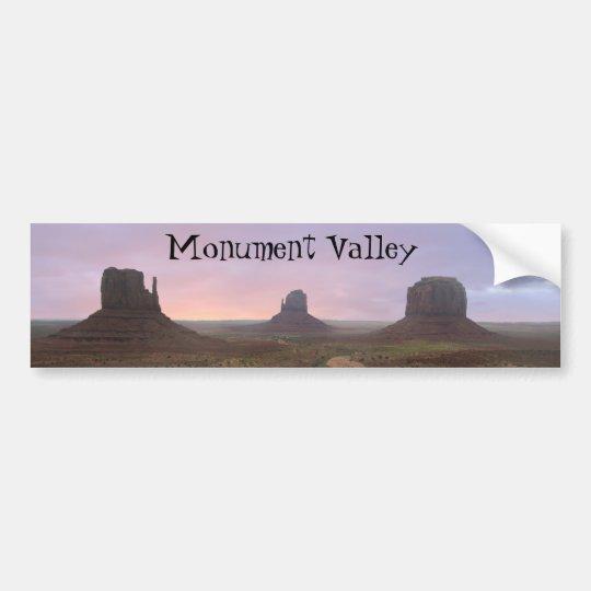 Monument Valley Bumper Sticker