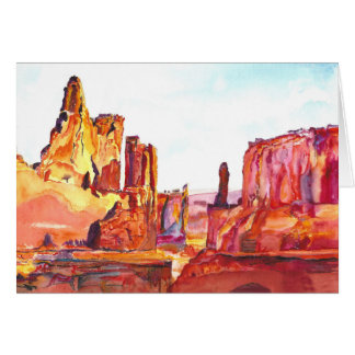 Monument Valley. Card