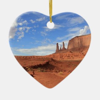 Monument Valley Christmas Ornament