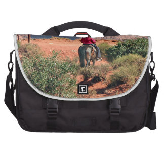 Monument Valley horse and rider, Utah, USA Laptop Bags