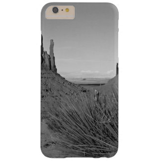 Monument Valley in Arizona/Utah (black and white) Barely There iPhone 6 Plus Case