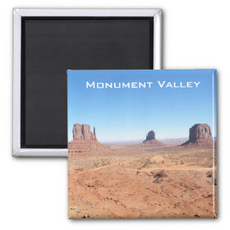 Monument Valley Square Magnet