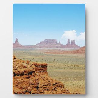 Monument Valley Plaque