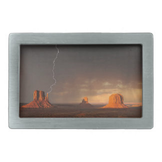 Monument Valley Rectangular Belt Buckle