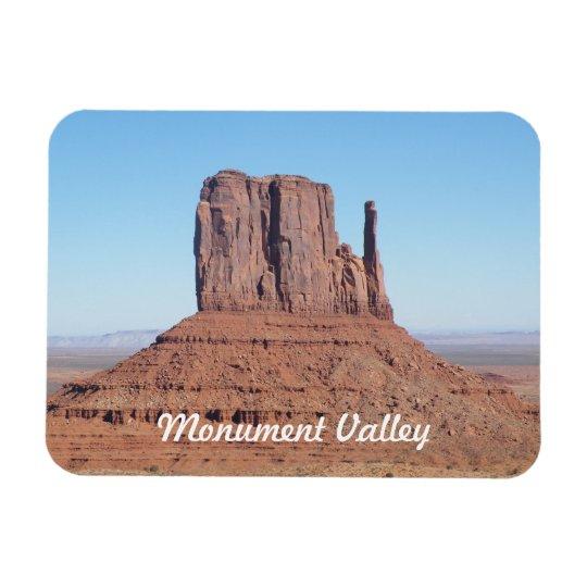 Monument Valley Rectangular Photo Magnet