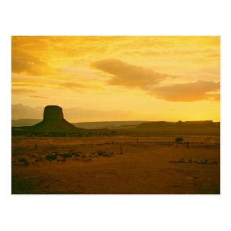 Monument Valley scene 01 Postcard