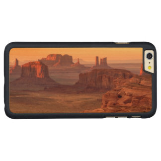 Monument valley scenic, Arizona Carved Maple iPhone 6 Plus Case