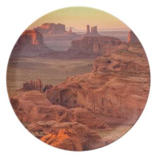 Monument valley scenic, Arizona Plate