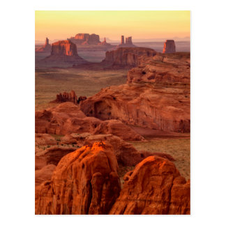 Monument valley scenic, Arizona Postcard