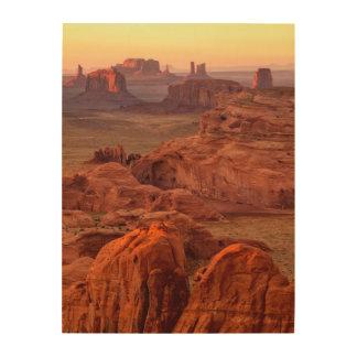 Monument valley scenic, Arizona Wood Wall Art