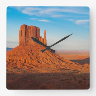 Monument Valley Utah desert mittens in panoramic Clock