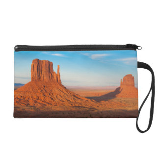 Monument Valley Utah desert mittens in panoramic Wristlet Clutches