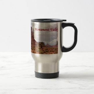 Monument Valley, Utah, USA 2 (caption) Travel Mug