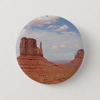 Monument Valley, Utah, USA 6 Cm Round Badge