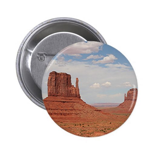 Monument Valley, Utah, USA Pinback Buttons