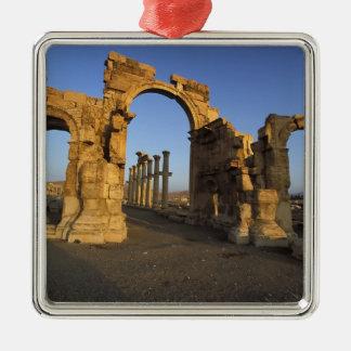 Monumental Arch, Palmyra, Homs, Syria Christmas Ornament
