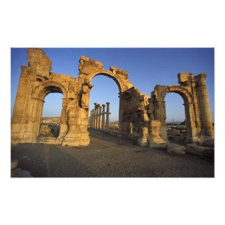 Monumental Arch, Palmyra, Homs, Syria Photo Print